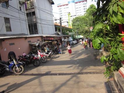 Street view, kampung