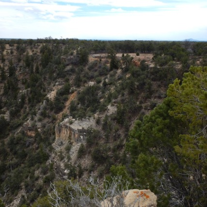 Orphan Mine site viewed from Powell Point
