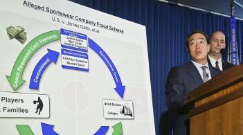 FBI investigators discuss the flow of money in men's college basketball