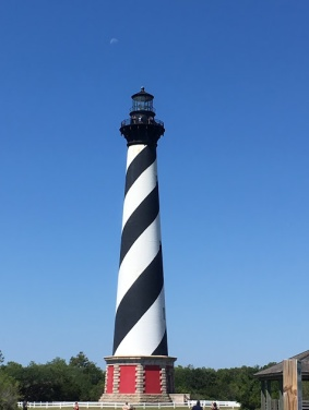 Hatteras Lighthouse from the NPS visitor center